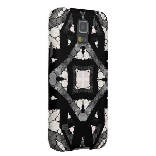 Black&White Abstract Galaxy S5 Covers