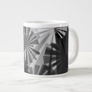 Black&White Abstract Jumbo Mugs