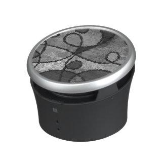 Black&White Abstract Pattern Bluetooth Speaker