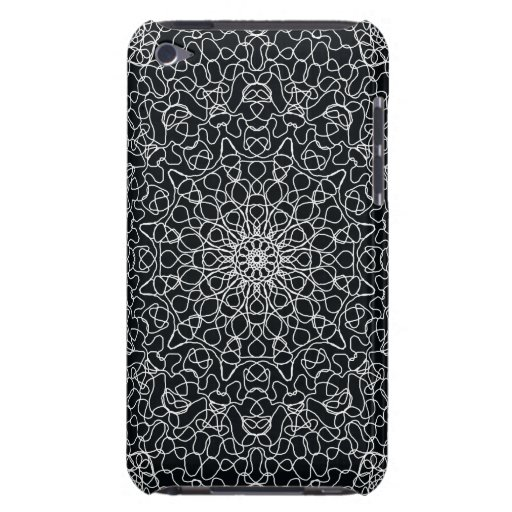 Black & White Abstract Speck Case For IPod Touch iPod Touch Covers