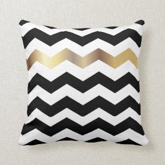 Black And White Chevron Cushions - Black And White Chevron Scatter Cushions Zazzle.co.uk