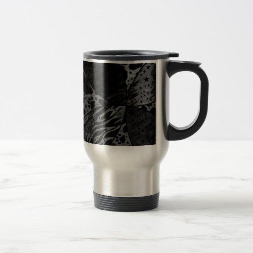 Black&White Animal Print Abstract Mug