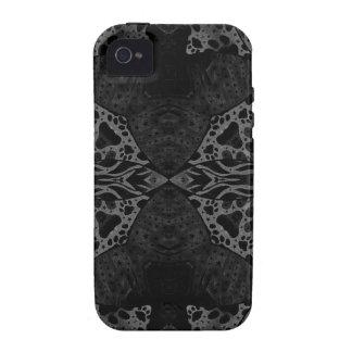 Black&White Animal Print Vibe iPhone 4 Case