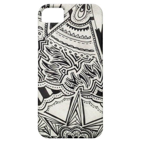 Black & white arrow case iphone 5