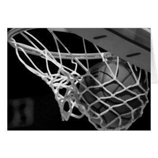 Black & White Basketball Cards
