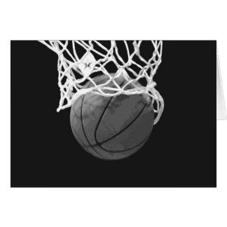 Black White Basketball Cards