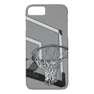 Black White Basketball Hoop iPhone 7 Case