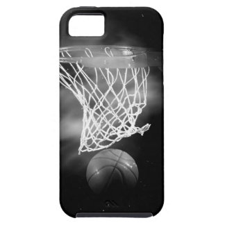Black & White Basketball iPhone 5 Covers