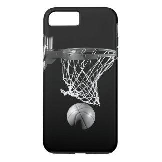 Black & White Basketball iPhone 7 Plus Case