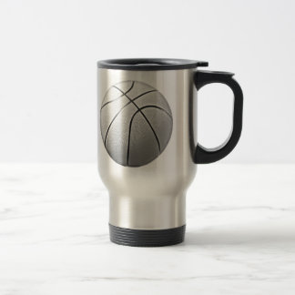 Black & White Basketball Coffee Mugs
