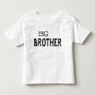 Black & White Big Brother Typography Toddler T-Shirt