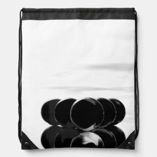 Black White Billiards Surrealism Urban Backpack