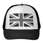Black & White British Flag Cap