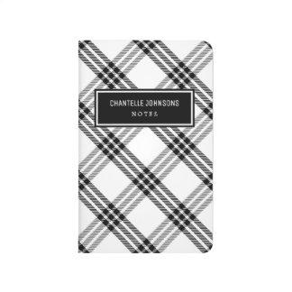 Black & White Buffalo Check Journal