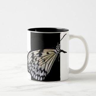 Black & White Butterfly Mug