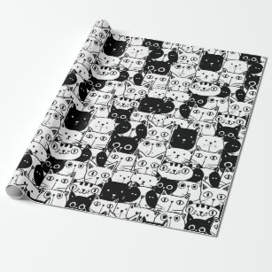 Black And White Cat Gifts Gift Ideas Zazzle Uk
