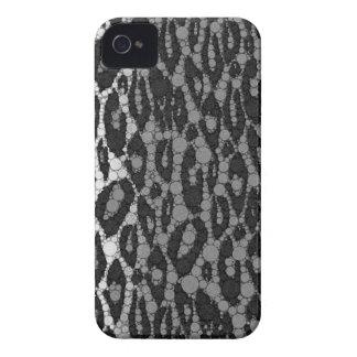 Black&White Cheetah Case-Mate iPhone 4 Cases