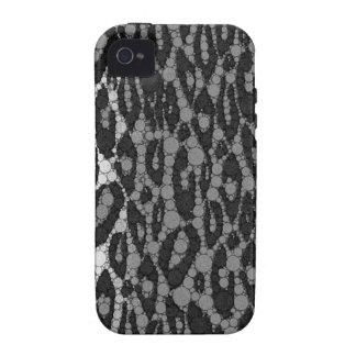 Black&White Cheetah iPhone 4/4S Cases