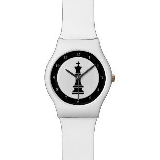 Black White Chess Game King | For Chess Players Watch