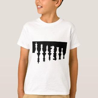 Black & White Chess Pieces T-Shirt