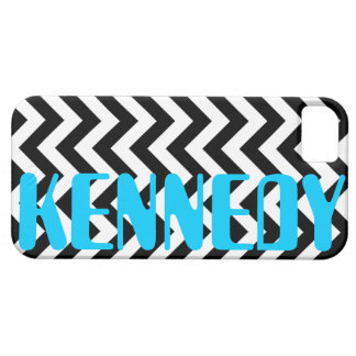 Black White Chevron Pattern iPhone 5 Covers