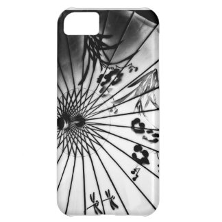 Black & White Chinese Parasol iPhone 5C Covers