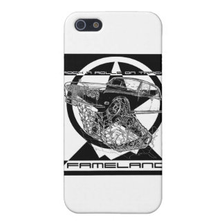Black & White Christmas Fantasy Rolls Royce Cases For iPhone 5
