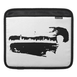 Black & White City Lookout - Tablet Sleeve