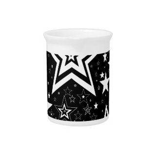 BLACK & WHITE COLLECTION DRINK PITCHER