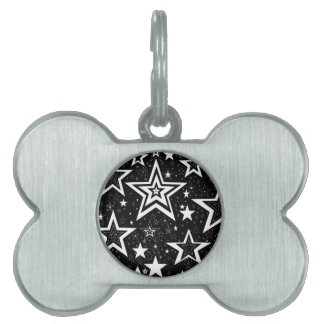 BLACK & WHITE COLLECTION PET TAGS