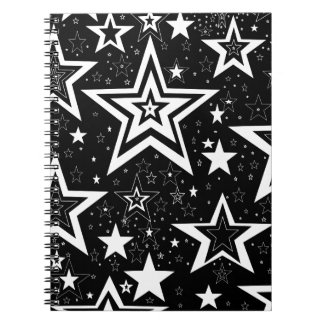 BLACK & WHITE COLLECTION SPIRAL NOTEBOOKS