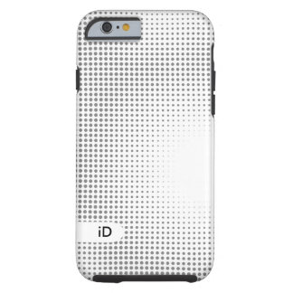 BLACK & WHITE | cool abstract pattern Tough iPhone 6 Case