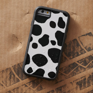 Black White Cow Spots Tough Xtreme iPhone 6 Case
