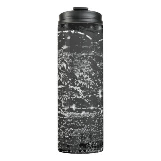 "Black & White ""Deep Space"" Hot/Cold Drink Carrier Thermal Tumbler"
