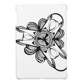 Black & White design on iPad Mini glossy case iPad Mini Covers