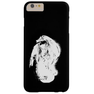 Black & White Dragon Barely There iPhone 6 Plus Case