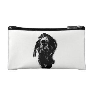 Black & White Dragon Cosmetics Bags