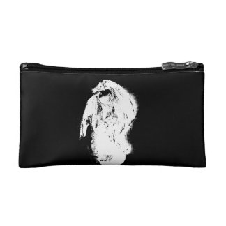 Black & White Dragon Makeup Bags