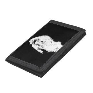 Black & White Dragon Trifold Wallet