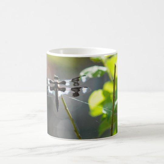 Black & White Dragonfly Coffee Mug