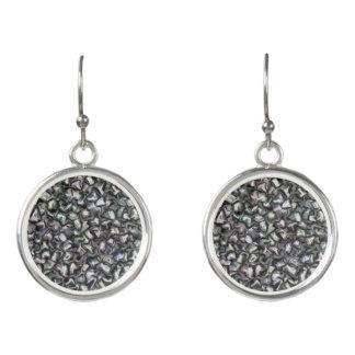 Black & White Drop Earings Earrings