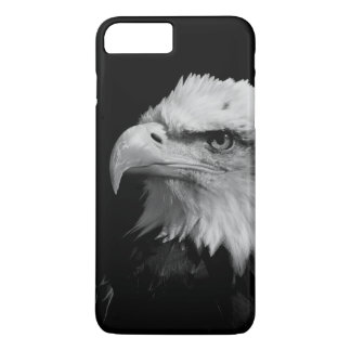 Black & White Eagle Eye Artwork iPhone 7 Plus Case