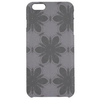 Black&White Flower Pattern iPhone 6 Plus Case