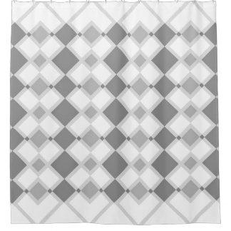 Black & White Geometric Fun Shower Curtain