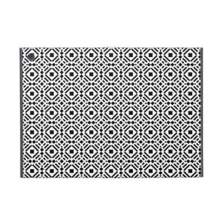 Black & White Geometric Tile Tessellation Pattern iPad Mini Cover
