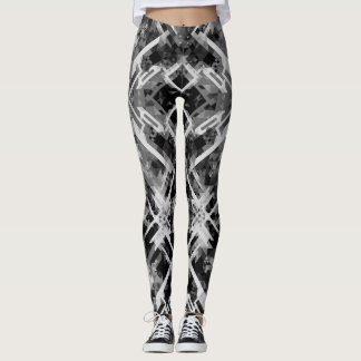 Black&White Geometrical Legging