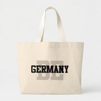 Black White Germany Jumbo Tote Bag