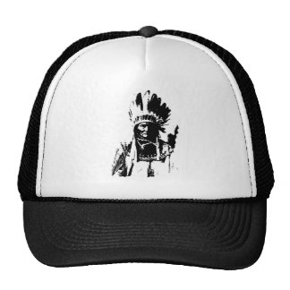 Black & White Geronimo Cap