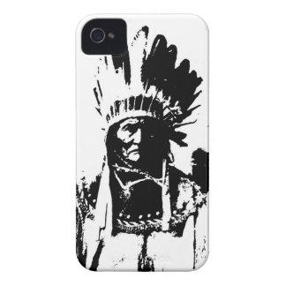 Black & White Geronimo iPhone 4 Covers