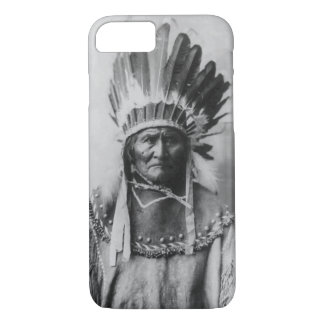 Black White Geronimo Photograph iPhone 7 Case